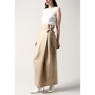 STUDIOUS - CLANE (クラネ) H/W WRAP LINE SKIRT ラップスカート