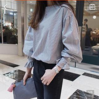 dholic - 春秋可愛い長袖シャツ ゆったり風