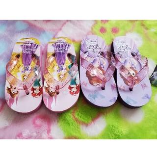 Disney - 新品 16cm ビーチサンダル2足 プリンセス、ソフィア