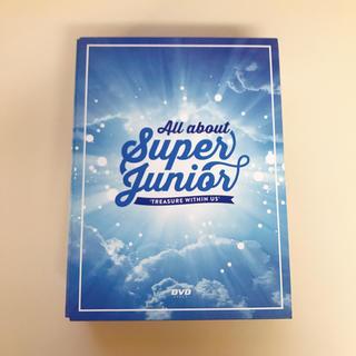 スーパージュニア(SUPER JUNIOR)のAll about SUPERJUNIOR DVD(ミュージック)