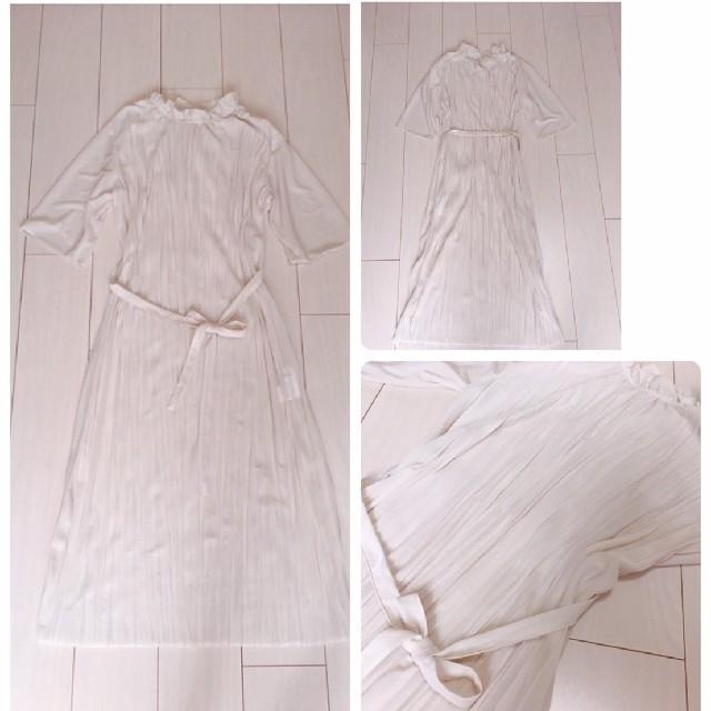 BEAMS(ビームス)の大人可愛いプリーツワンピースコーデ♡マルマリミラオーウェンデニムジャケット レディースのワンピース(ロングワンピース/マキシワンピース)の商品写真