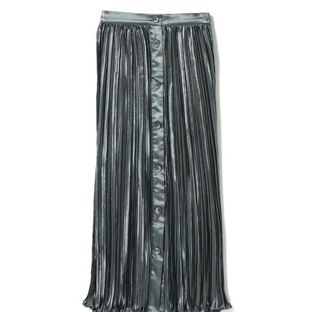 Ray BEAMS(レイビームス)のレイビームス サテンプリーツスカート レディースのスカート(ロングスカート)の商品写真