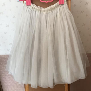 トッコ(tocco)のトッコクローゼット チュールスカート(ひざ丈スカート)