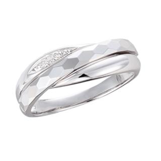 JEWELRY TSUTSUMI - 新品 未使用品 ジュエリー ツツミ K10ホワイトゴールドダイヤモンドリング