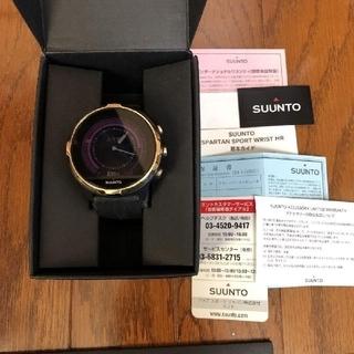 スント(SUUNTO)のスント sunnto スパルタン 日本限定80本 美品 携帯連動(腕時計(デジタル))