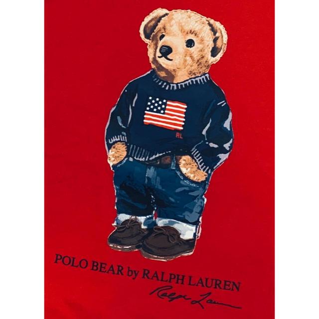 POLO RALPH LAUREN(ポロラルフローレン)の★POLO BEAR ★ラルフローレンポロベアTシャツM/150 キッズ/ベビー/マタニティのキッズ服男の子用(90cm~)(Tシャツ/カットソー)の商品写真