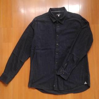 オリヒカ(ORIHICA)のORIHICA ネイビーピンストライプシャツ(シャツ)