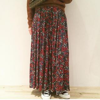 Shinzone - シンゾーン 花柄 スカート フラワープリント