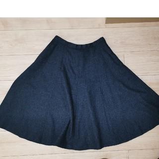 マーガレットハウエル(MARGARET HOWELL)のMargaretHowellマーガレットハウエル100%ウールスカート(ひざ丈スカート)