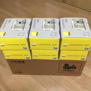 ニコン(Nikon)のNIKON COOLPIX A100 デジタルカメラ(新品・未使用品)(コンパクトデジタルカメラ)