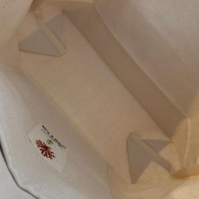 H.P.FRANCE(アッシュペーフランス)のコーラルアンドタスク トートバッグ Garland Fox レディースのバッグ(トートバッグ)の商品写真