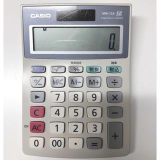 CASIO - CASIO電卓 MW-12A