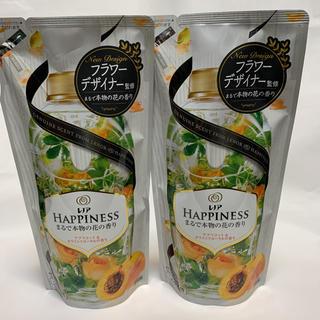 ハピネス(Happiness)のレノアハピネス アプリコット&ホワイトフローラルの香り まるで本物の花の香り2個(洗剤/柔軟剤)