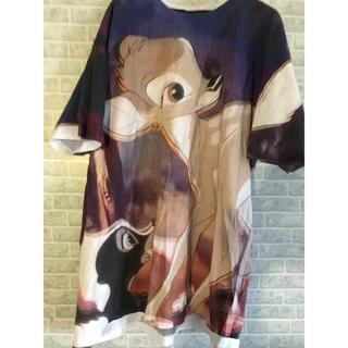 アチャチュムムチャチャ(AHCAHCUM.muchacha)のあちゃちゅむ バンビ ビッグ T 38(Tシャツ(半袖/袖なし))