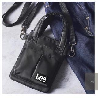 リー(Lee)のsmart 付録 Lee ミニショルダーバッグ 未使用品(ショルダーバッグ)