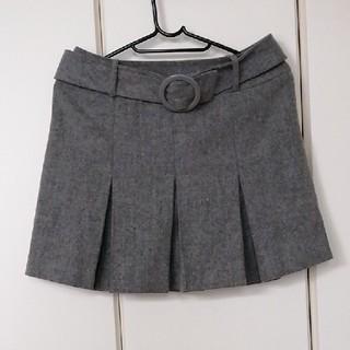 エルディープライム(LD prime)のMサイズ LDプライム スカート グレー(ミニスカート)