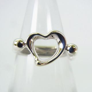 ティファニー(Tiffany & Co.)のティファニー 925 オープンハート リング 3.5号[g154-3] (リング(指輪))