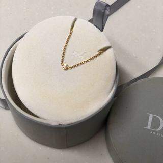 Dior - ミミウイ ディオール  ゴールド1つぶダイヤネックレス