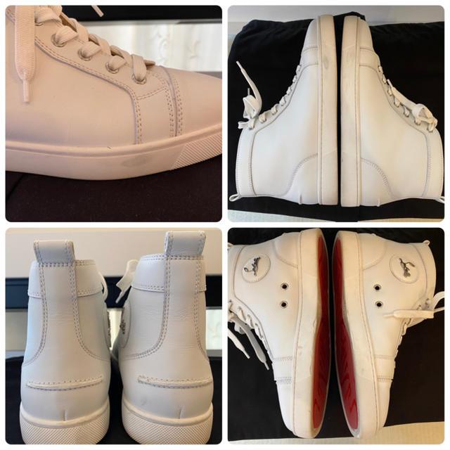 Christian Louboutin(クリスチャンルブタン)のクリスチャン ルブタン ハイカット スニーカー 40 メンズ メンズの靴/シューズ(スニーカー)の商品写真