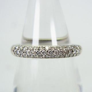 ヨンドシー(4℃)の4℃ Pt950 ダイヤモンド パヴェ リング 10号[g154-8] (リング(指輪))