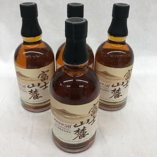 キリン(キリン)のキリン 富士山麓樽熟原酒50℃ 700ml 4本セット(ウイスキー)