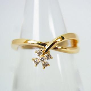 ヴァンドームアオヤマ(Vendome Aoyama)のヴァンドーム K18 ダイヤモンド リング 7号[g154-9] (リング(指輪))