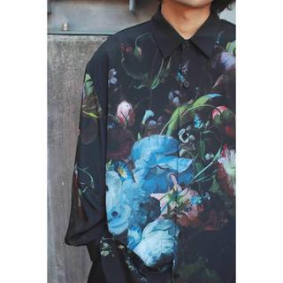 LAD MUSICIAN - ladmusician 19aw 花柄シャツ 46サイズ