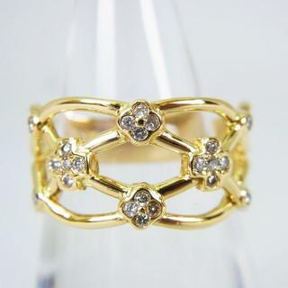 K18 ダイヤモンド リング 12号[g155-1](リング(指輪))