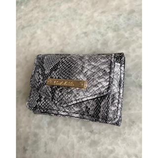 CECIL McBEE - 新品 パイソン柄ミニ財布