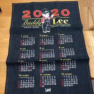 リー(Lee)のLee デニム カレンダー 2020 ノベルティ 非売品(カレンダー/スケジュール)