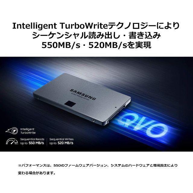 SAMSUNG(サムスン)の[新品未使用] サムスン Samsung SSD 1.0TB スマホ/家電/カメラのPC/タブレット(PCパーツ)の商品写真