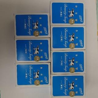 ギュウニュウセッケン(牛乳石鹸)の牛乳石鹸青箱 バスサイズ 7個(ボディソープ/石鹸)