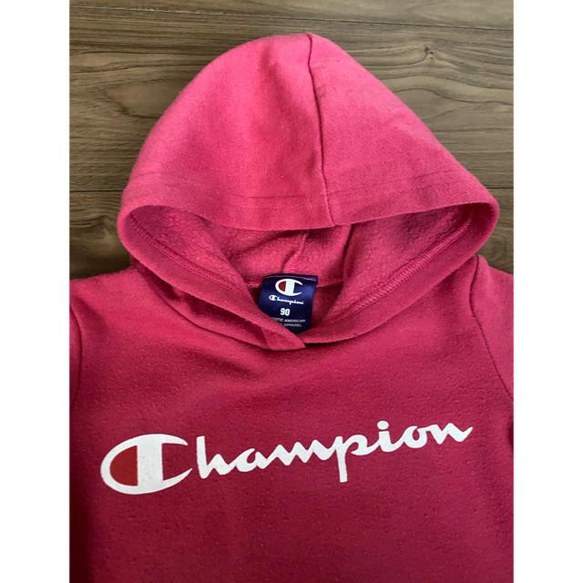 Champion(チャンピオン)のchampion ワンピース 90 キッズ/ベビー/マタニティのキッズ服女の子用(90cm~)(ワンピース)の商品写真