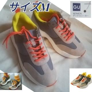 ジーユー(GU)のダッドスニーカー サイズM/GU 未使用品(スニーカー)