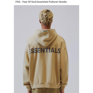 FEAR OF GOD - XL Essentials Pullover Hoodie パーカー