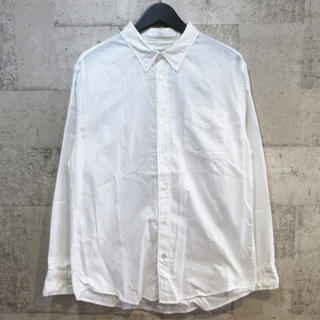 ヴィスヴィム(VISVIM)のヴィズヴィム 12AW アルバコア ロングスリーブシャツ 2 ビズビム 白(シャツ)