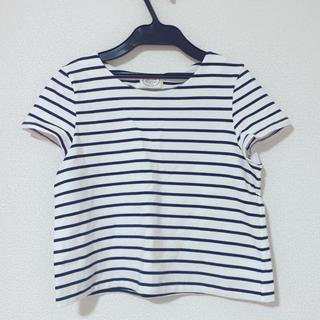 トッコ(tocco)のtocco closet ボーダーTシャツ(Tシャツ(半袖/袖なし))