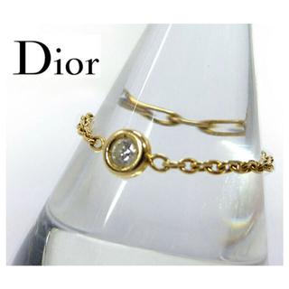 クリスチャンディオール(Christian Dior)のDior♡mimioui gold ring 大人気廃盤 約6〜7号(リング(指輪))