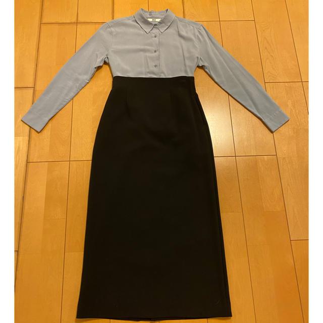 UNITED ARROWS(ユナイテッドアローズ)のユーユー様専用  ハイウエストタイトスカート(黒)  レディースのスカート(ロングスカート)の商品写真