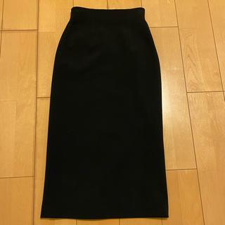UNITED ARROWS - ハイウエストタイトスカート(黒)