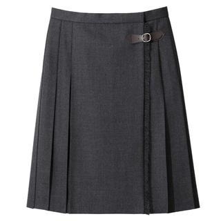 EASTBOY - EASTBOY サキソニースカート チャコールグレー 新品