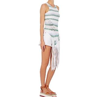 ステラマッカートニー(Stella McCartney)のstella mccartney フリンジ付きトップス(Tシャツ(半袖/袖なし))