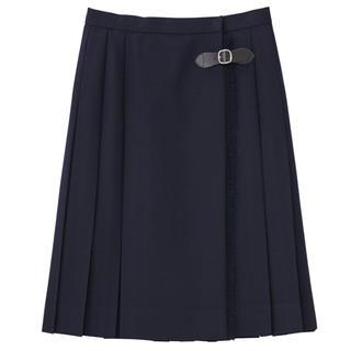 EASTBOY - EASTBOY サキソニースカート ネイビー 新品