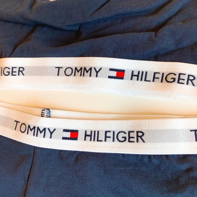 TOMMY HILFIGER(トミーヒルフィガー)の【新品】トミー ブラレット ショーツ セットアップ ネイビー M レディースの下着/アンダーウェア(ブラ&ショーツセット)の商品写真