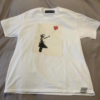 BEAUTY&YOUTH UNITED ARROWS -  BEAUTY&YOUTH / Banksy GIRL SHURETTA Tee