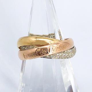 Cartier - 【仕上済】カルティエ トリニティリング ダイヤ 12号 レディース 指輪