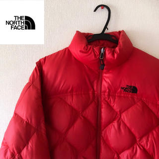 THE NORTH FACE - THE NORTH FACE ノースフェイス ダウン600fil 赤
