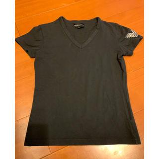 エンポリオアルマーニ(Emporio Armani)のエンポリオアルマーニ レディーステーシャツ 美品!(Tシャツ(半袖/袖なし))