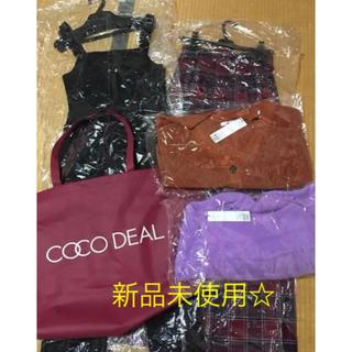 ココディール(COCO DEAL)のココディールCOCODEAL 2020 人気福袋 4点 ニット サロペ スカート(ニット/セーター)