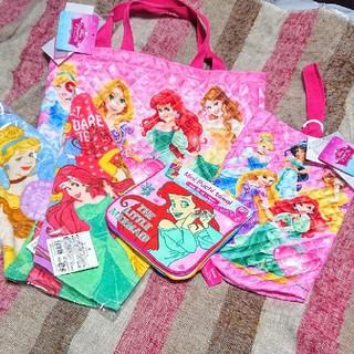 Disney - 入学準備!レッスンバッグ、シューズバッグ、ループタオル、ハンカチ